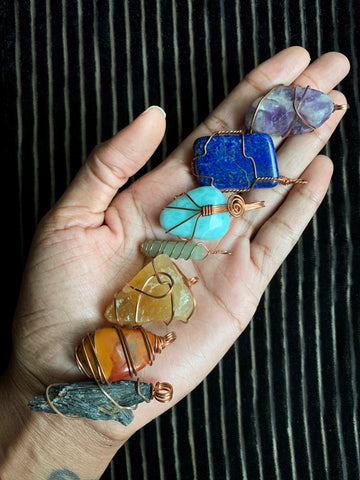 Crystal Jewelry Sorted by Chakra