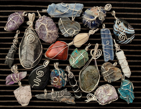 Silver Crystal Jewelry