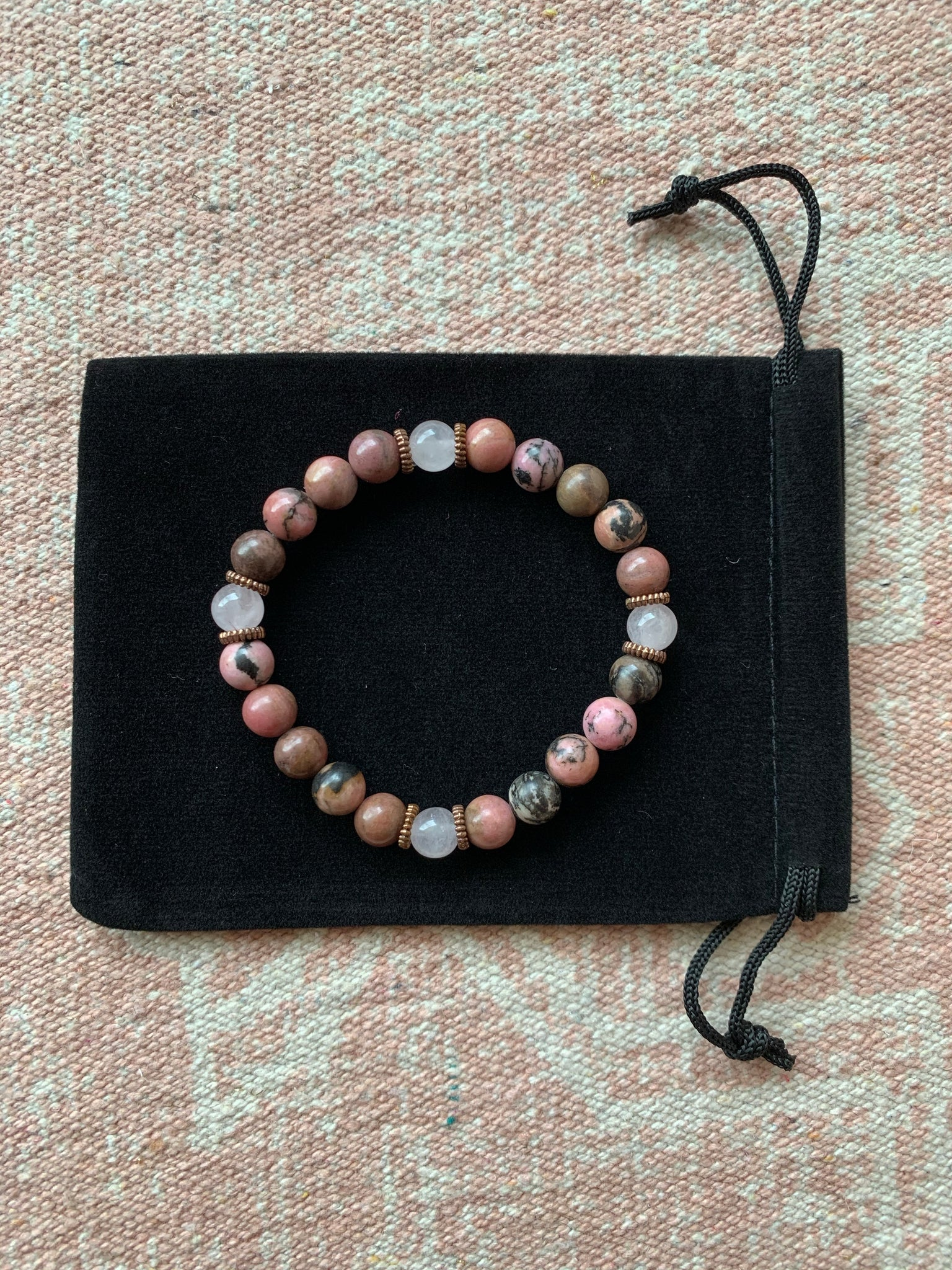 Large Rhodonite Bracelet