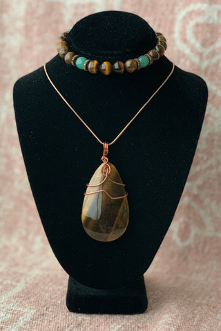 Tiger's Eye Set