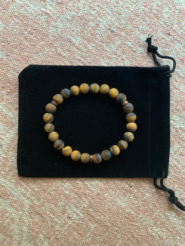Large Tiger's Eye Bracelet
