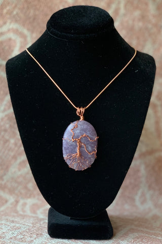 Lepidolite Tree of Life