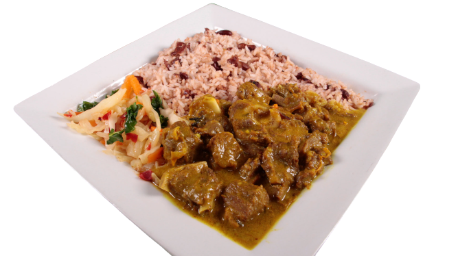 Tun Up Curry Goat