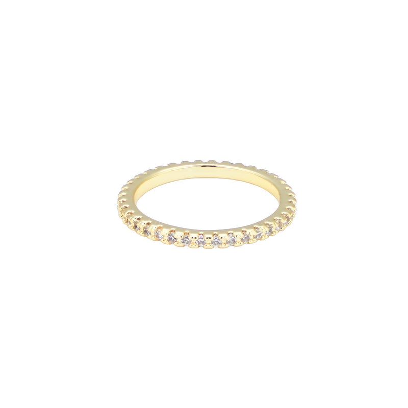 The Gold Eternity Ring