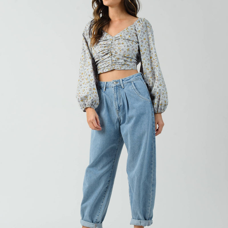 The Courtney Crop Top