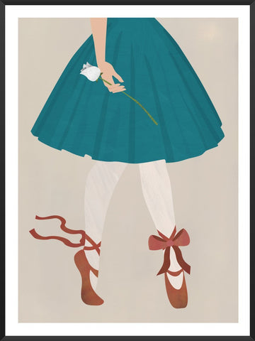 Project Nordのポスター THE RED SHOES BY ANDERSEN