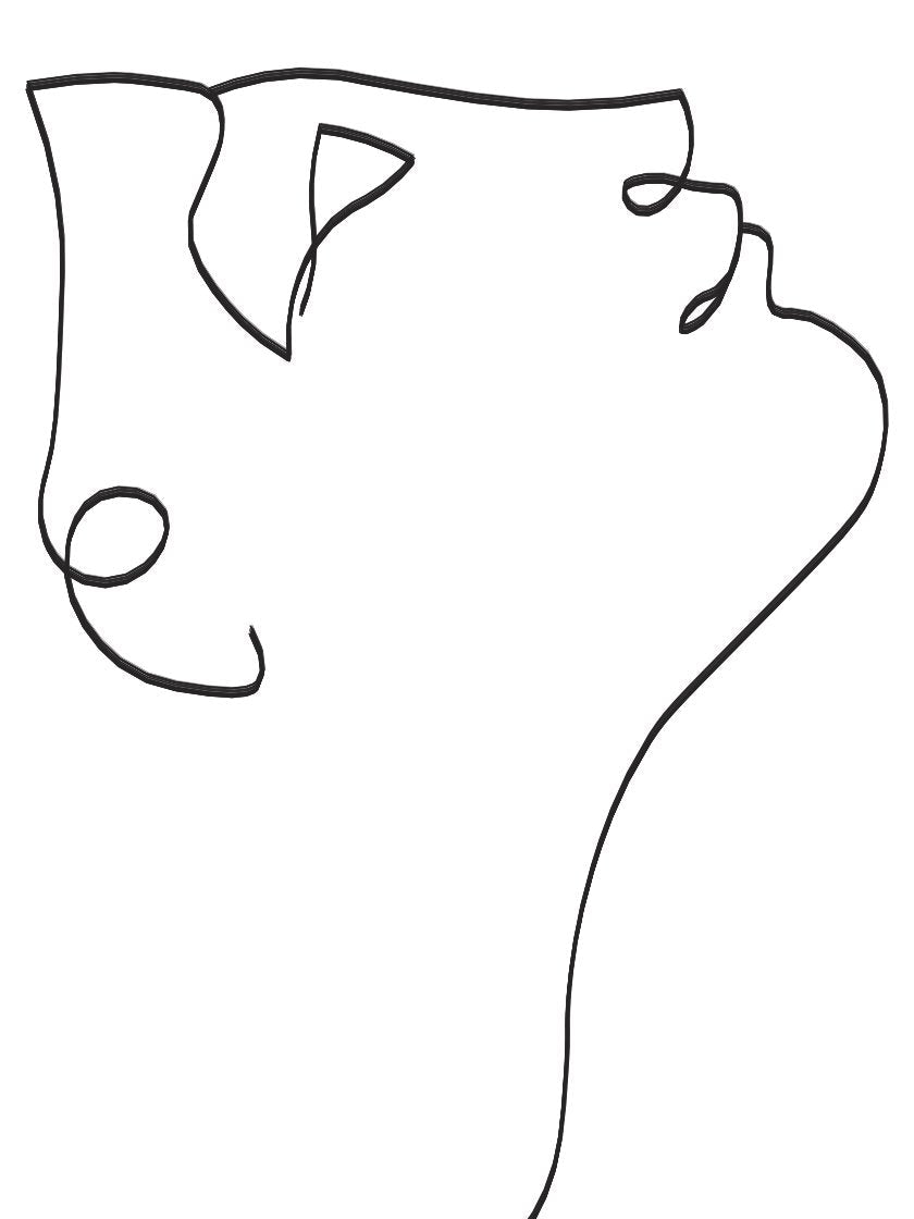 look-up-line-art-face-poster-closeup