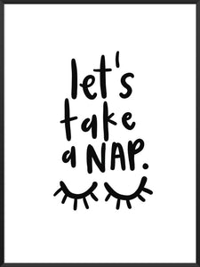 project-nord-lets-take-a-nap-poster-product-picture