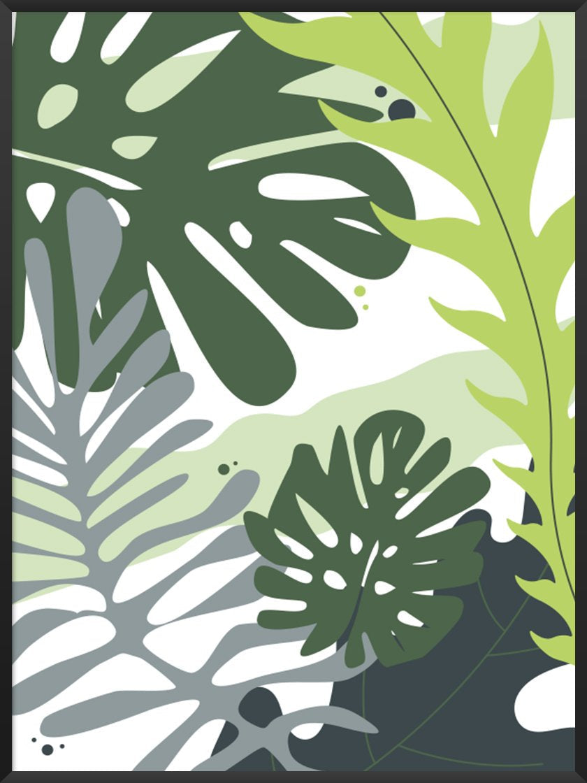 Project Nordのポスター TROPICAL LEAVES