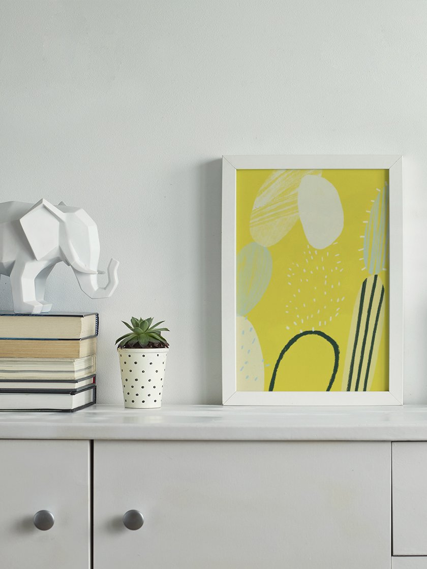 project-nord-abstract-cactus-poster-in-interior