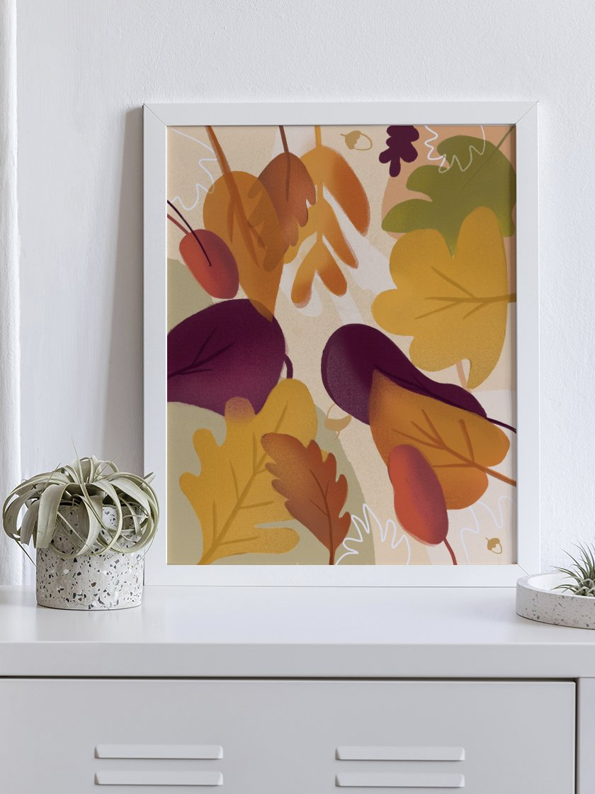 project-nord-autumn-leaf-poster-in-interior-hallway