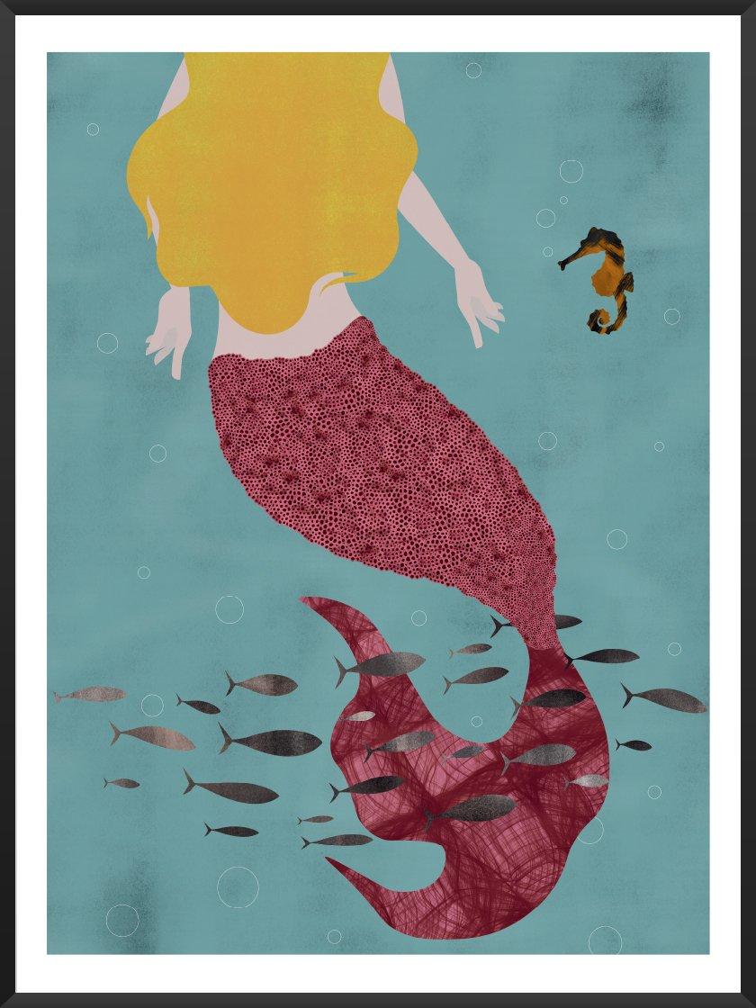 Project Nordのポスター THE LITTLE MERMAID BY ANDERSEN
