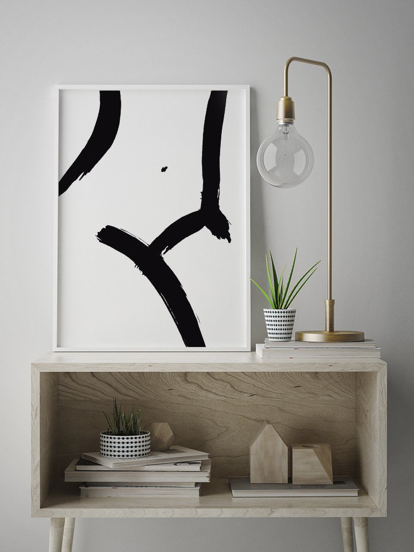 project-nord-nude-body-minimalist-female-figure-line-art-poster-in-interior-hallway