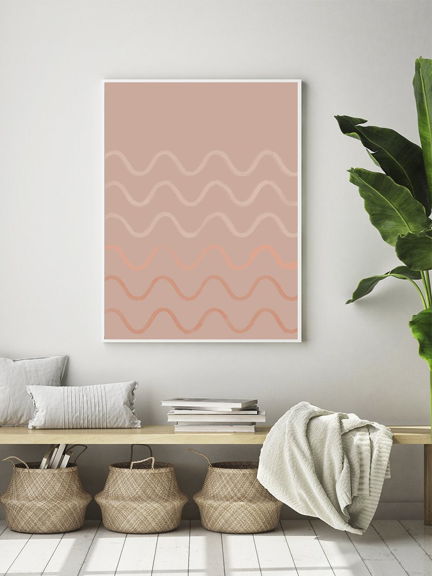 project-nord-crayon-waves-dusty-rose-poster-in-interior-living-room
