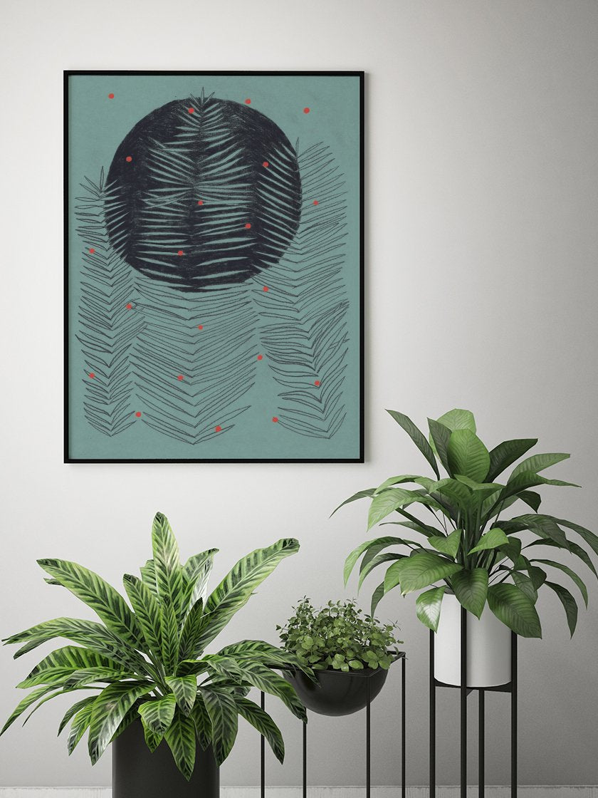 ferns-poster-in-interior
