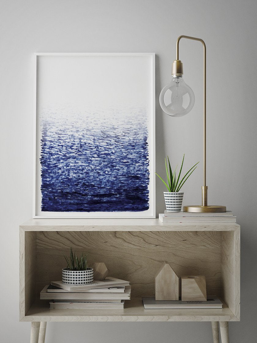 project-nord-la-mer-hand-painted-sea-poster-in-interior-hallway