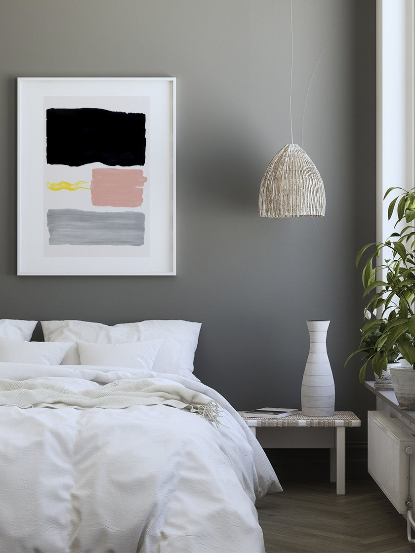 project-nord-lanzarote-graphic-pastel-poster-in-interior-bedroom