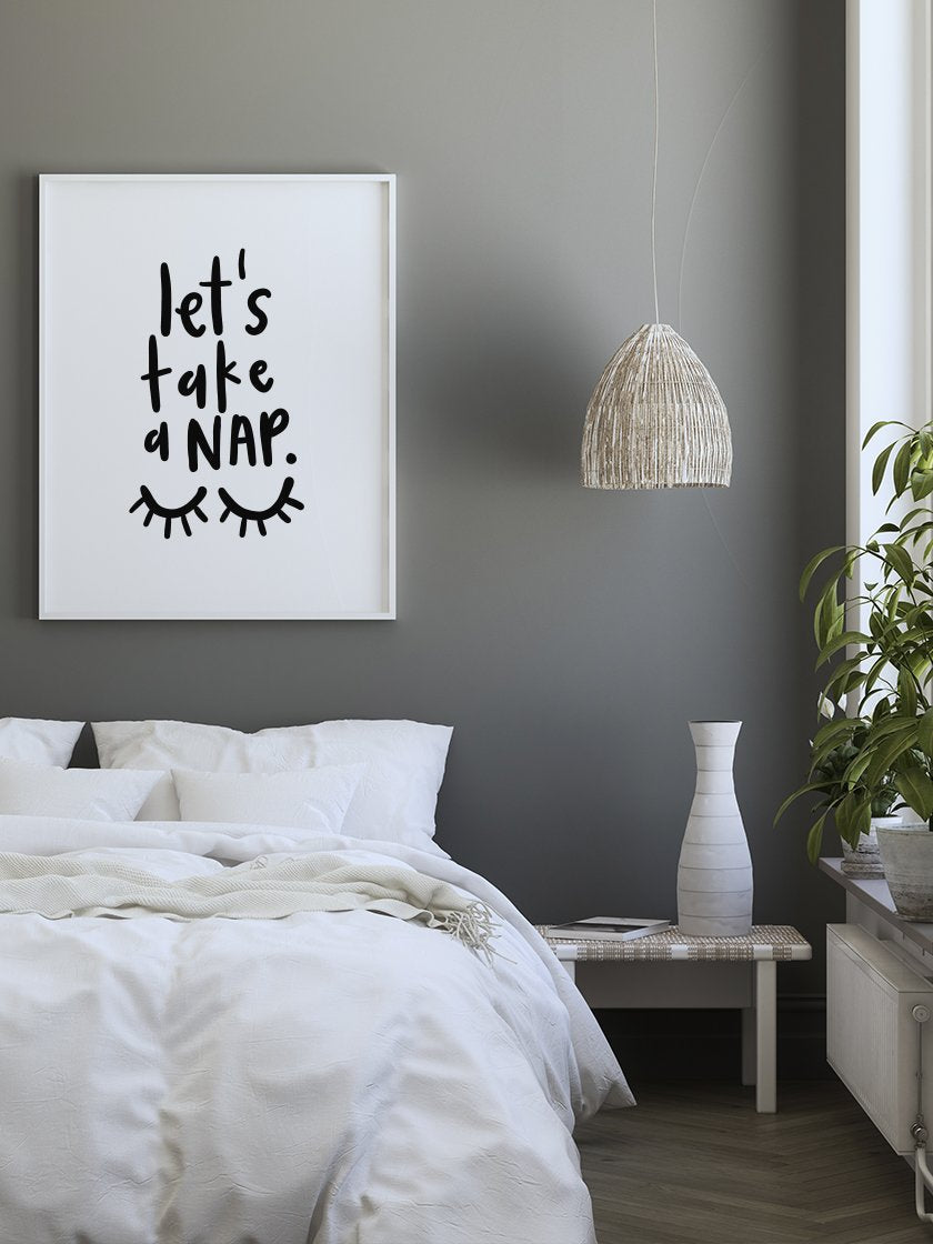 project-nord-lets-take-a-nap-poster-in-interior-bedroom