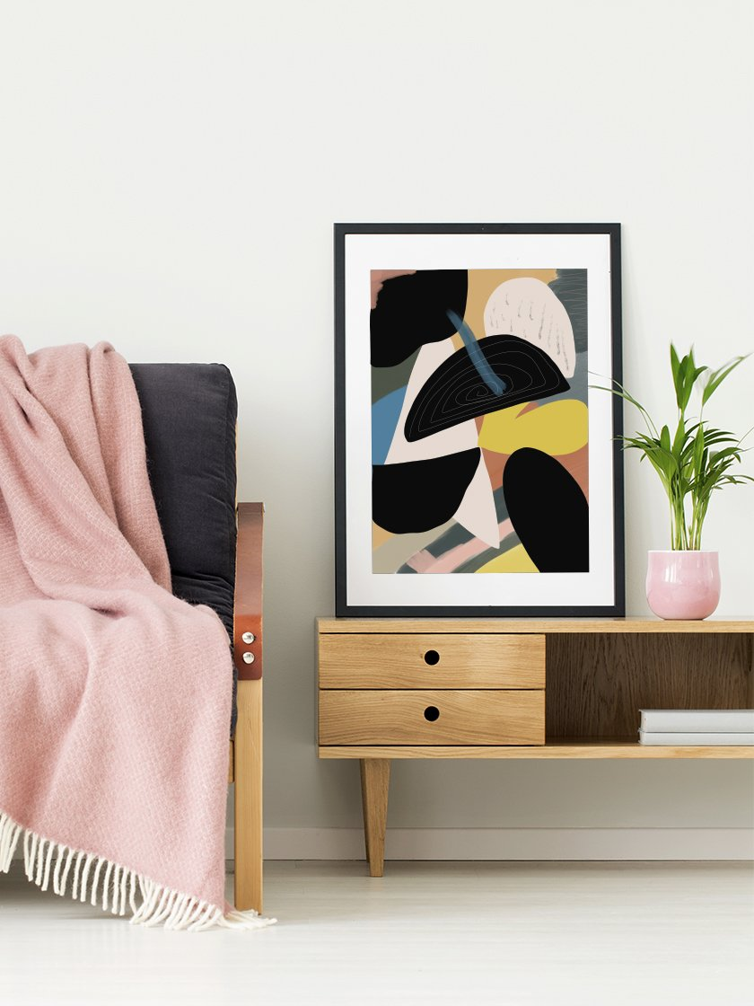 project-nord-life-shapes-us-abstract-motifs-poster-in-interior-living-room