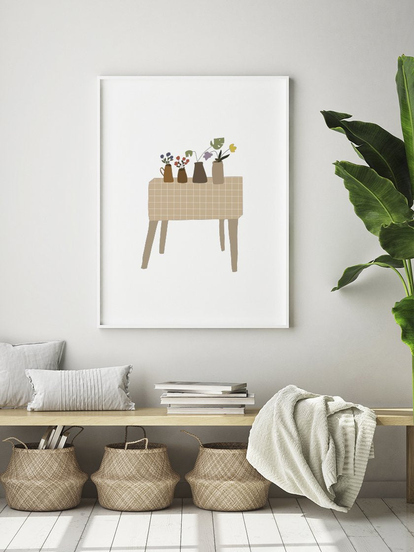 little-home-garden-poster-in-interior-hallway