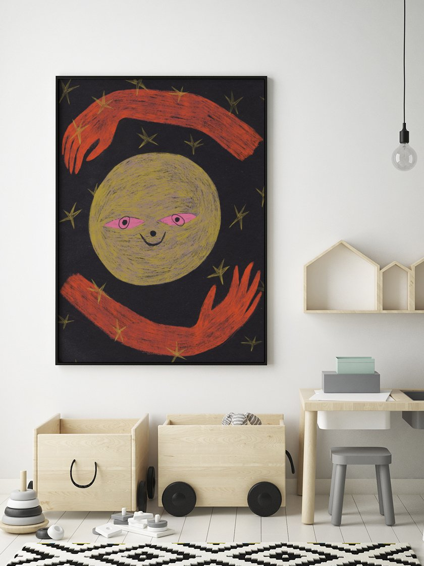 project-nord-crayon-moon-kids-room-poster-in-interior-kids-room