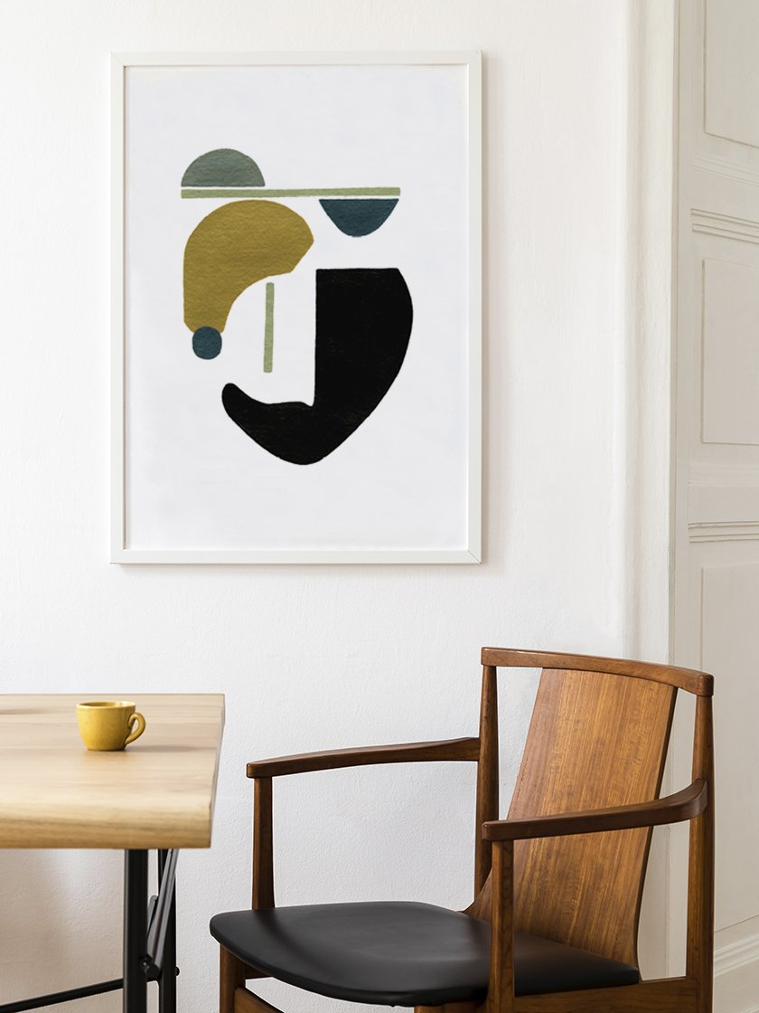 project-nord-motherhood-hand-painted-modern-abstract-poster-in-interior-dining-room