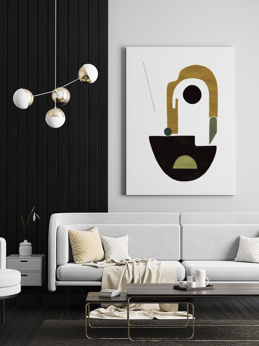 mother-hand-painted-shapes-poster-in-scandinavian-living-room