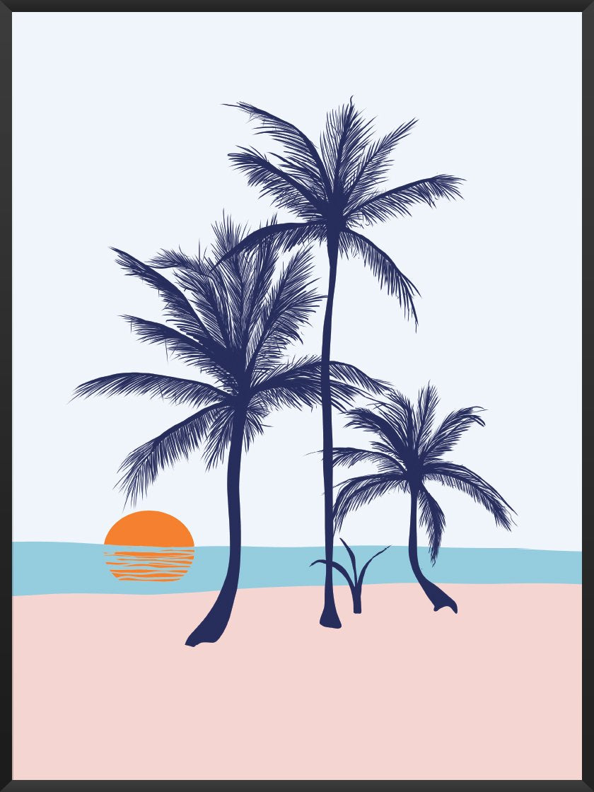 Project Nordのポスター PALMS ON THE BEACH