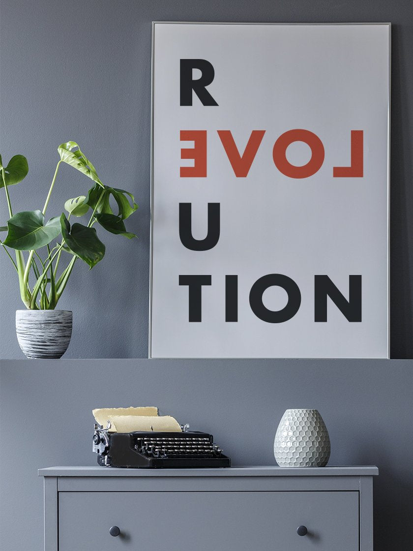 love-revolution-poster-in-interior