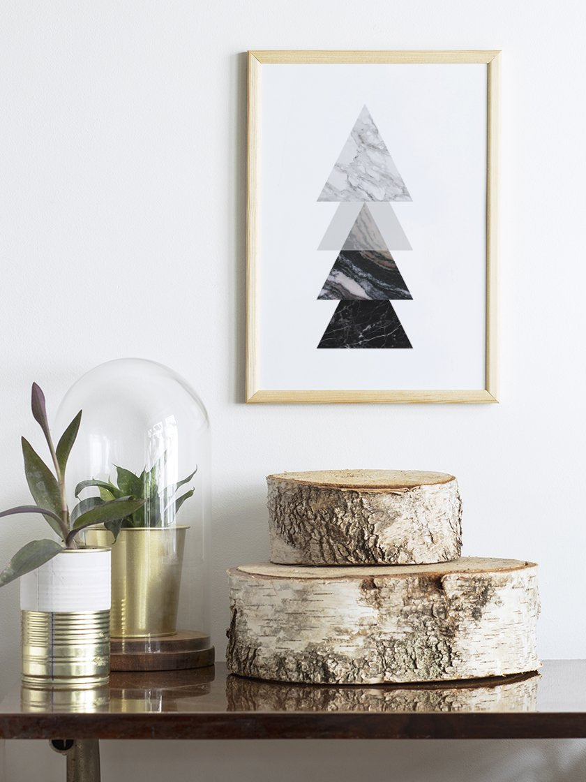 project-nord-marble-triangles-poster-in-interior