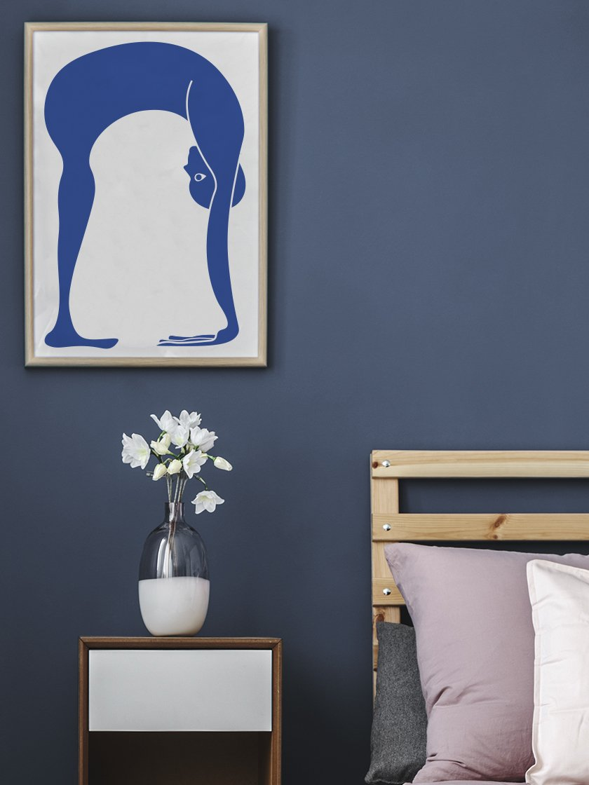project-nord-uttanasana-yoga-poster-in-interior-bedroom