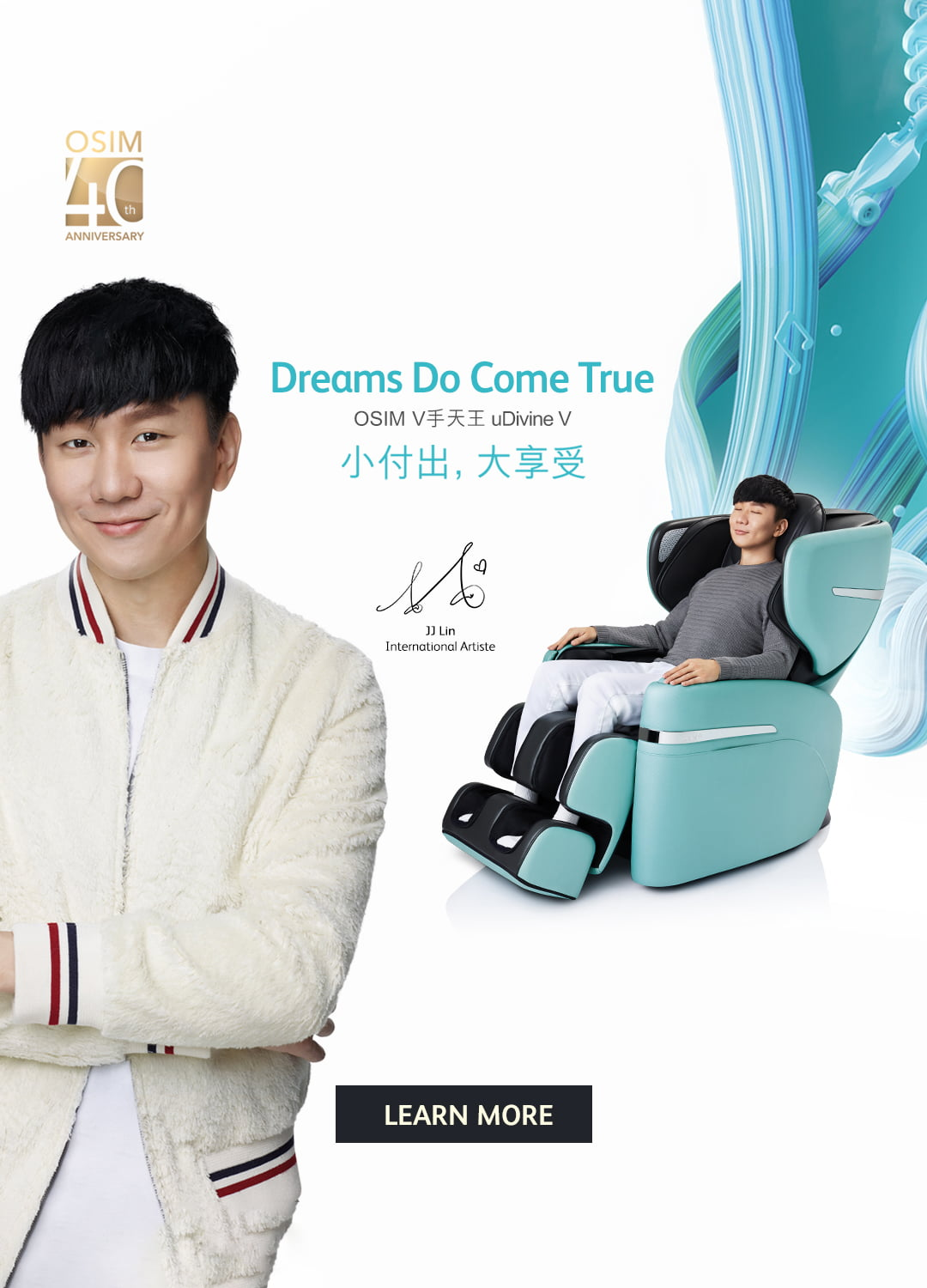 JJ Lin Shiatsu Full Body Massage Chair