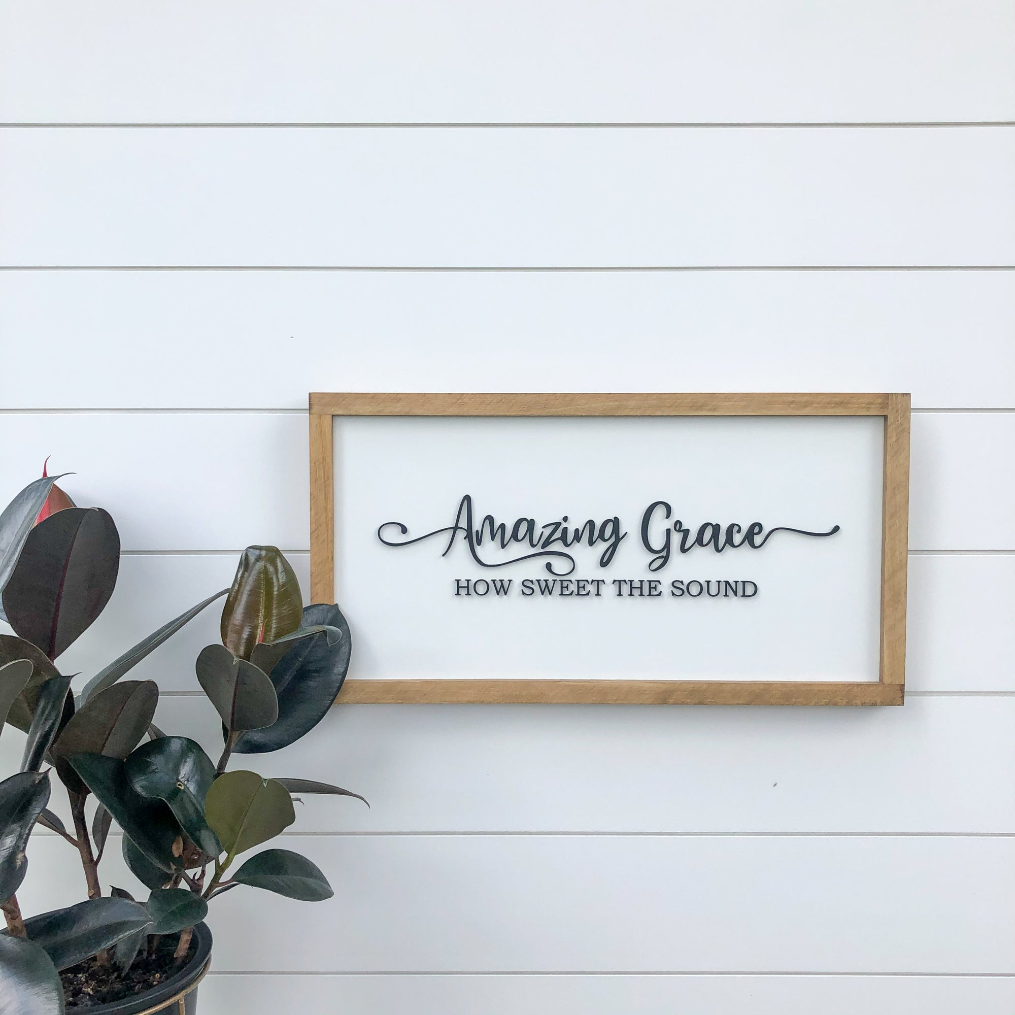 11x21 3D Amazing Grace sign