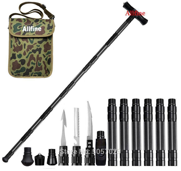 Tactical Walking Stick for Survival and Camping - Tactical Walking Stick