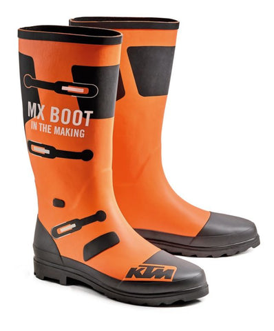 KTM MX Boot In The Making Rubber Gum Boots