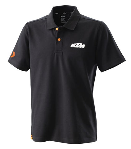 KTM Racing Mens Polo Shirt - Black - KTM Experience