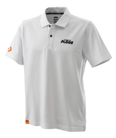 KTM Racing Mens Polo Shirt - White - KTM Experience