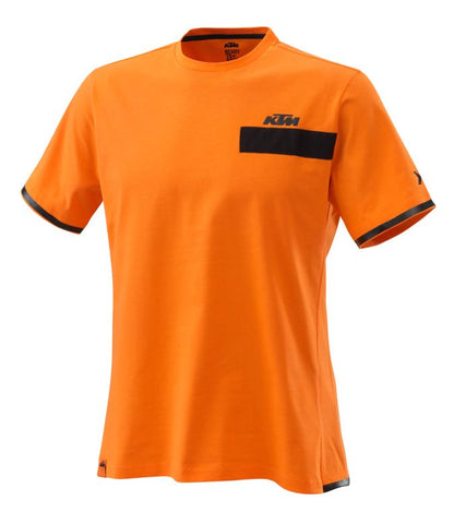 KTM Pure Mens T-Shirt - Orange - KTM Experience
