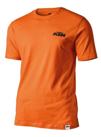 KTM Racing Mens Slim Fit T-Shirt - Orange