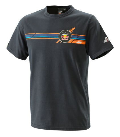 KTM Kini Redbull Stripes Mens Slim Fit T-Shirt - KTM Experience