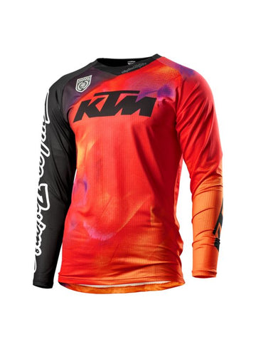 KTM Speed Equipment SE Slash Troy Lee MX Shirt - Orange - KTM Experience