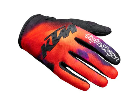KTM Speed Equipment SE Slash Troy Lee Offroad Gloves - Orange