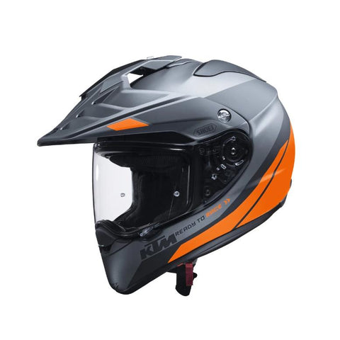 KTM Shoei Hornet Fibreglass All-Road Adventure Helmet - KTM Experience