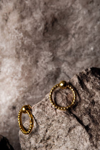 Simple Grip earrings - Ella zubrowska Jewellery