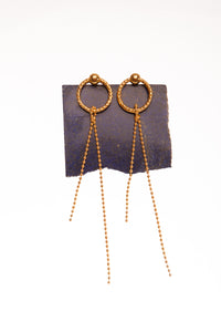 Simple Grip Dancing Earrings - Ella zubrowska Jewellery