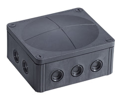 Wiska Combi 1210/5 – 57A  Junction Box IP67 Black