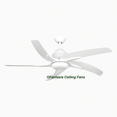 "Elite - 44"" Viper Plus Gloss White Ceiling fan"