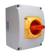 C&D SDP402 40A 2-Pole Switch-Disconnector (O-I) with Moulded Plastic IP65 Enclosure