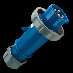 Mennekes 290 - Blue 230V 32A 3 Pole AM-TOP IP67 Plug