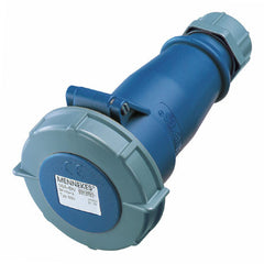 Mennekes 552 - Blue 230V 32A 3 Pole AM-TOP IP67 In-line Connector